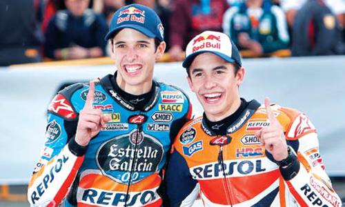 """สองพี่น้อง """" มาเกรซ """" แชมป์ MOTOGP & MOTO2 2019"""