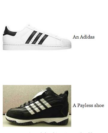 Adidas กับ Payless