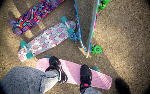 ซื้อ 4 วิธีเลือก Surf skate